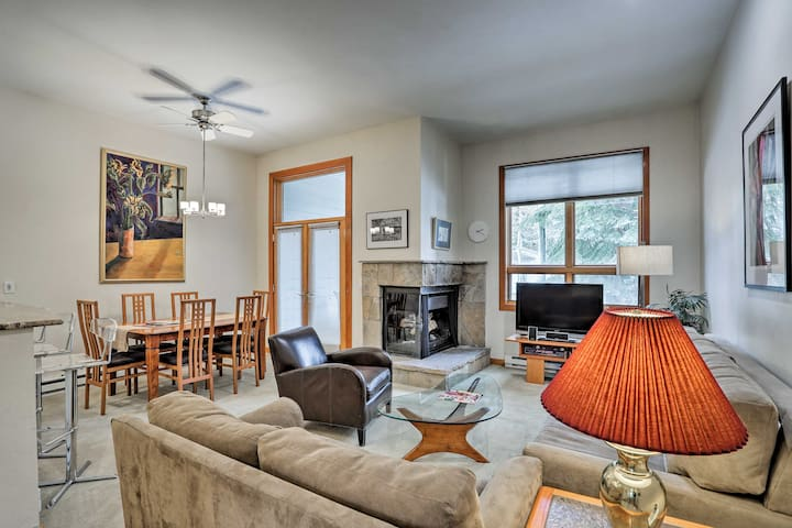 NEW! Vail Ski Nook w/Pool Access, Walk to the Lift