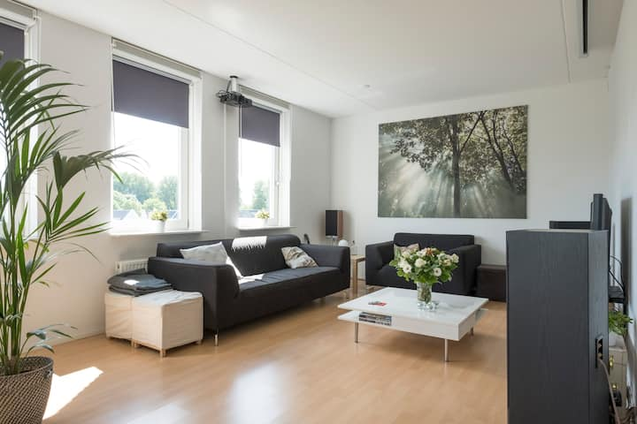 Clean room in spacious appartement