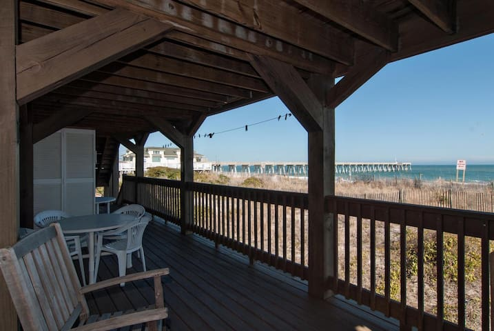 Parker #1-Affordable, oceanfront unit near the pier with million dollar views