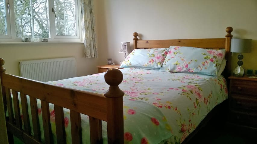 Lovely double bedroom in village setting - Bransgore - House