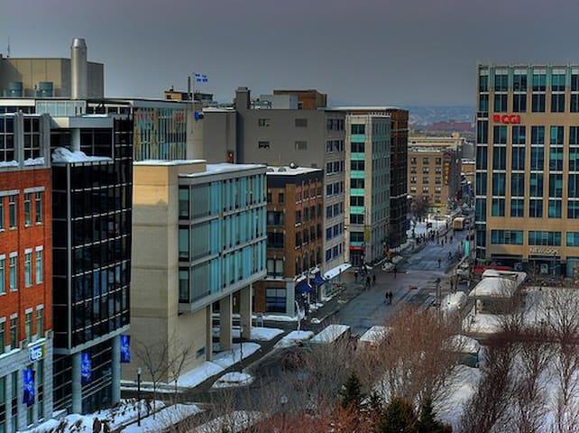 3 1/2 au centre-ville :) - Ville de Québec - Apartment
