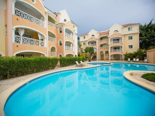 1 Bdrm Apartment in Heart of Bavaro - Punta Cana - Apartamento