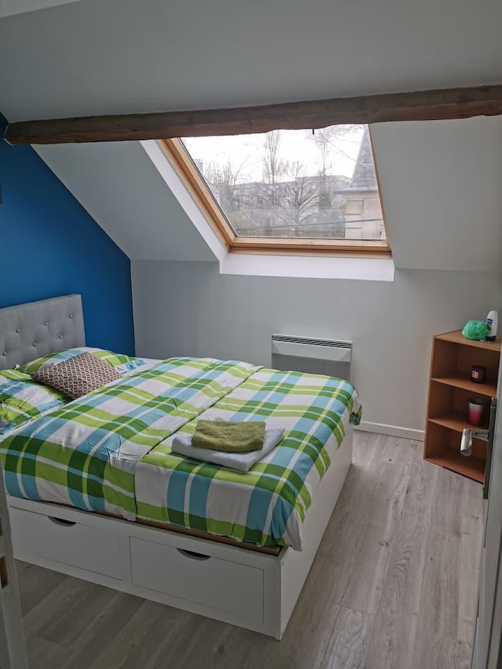 Chambre privée et cosy en appartement