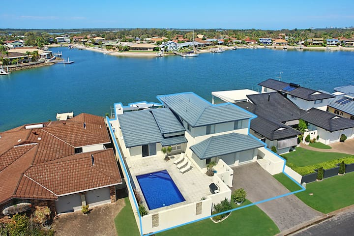 Cooindah On The Water - pool and private Jetty!