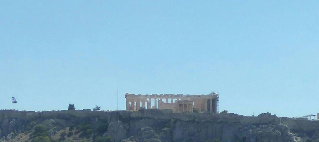Athens Loft View Parthenon