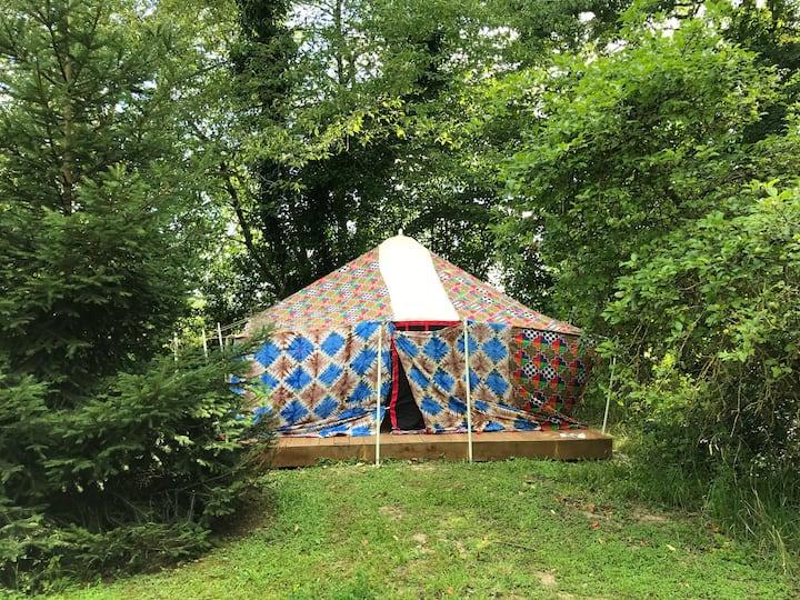 La Tente d'Aladdin au lac du Der en Champagne