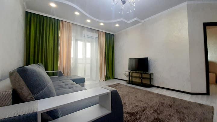 Bright apartment in the centre of Almaty