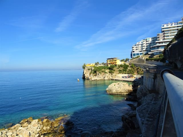 Spacious apartment just 50 m from the beach