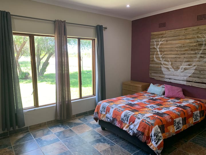 Little Nyapi Farm Guest Bedroom - self catering