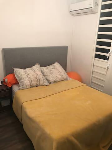Chambre confortable et bien placée - Les abymes  - Apartamento