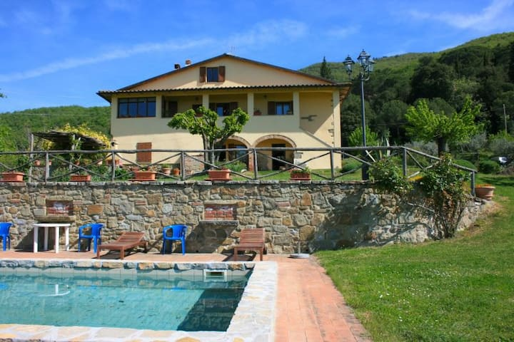 PODERE LA VIGNA - San Giovanni Valdarno - Villa
