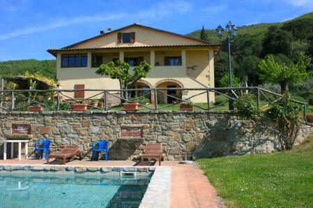 PODERE LA VIGNA - San Giovanni Valdarno - Casa de campo