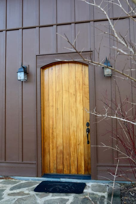 8' Walnut Door.