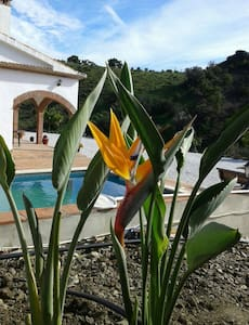 1001 nights: Magic location, house+POOL, sleep 6 - Cútar - Talo