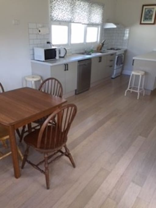 Kitchen , Dining area