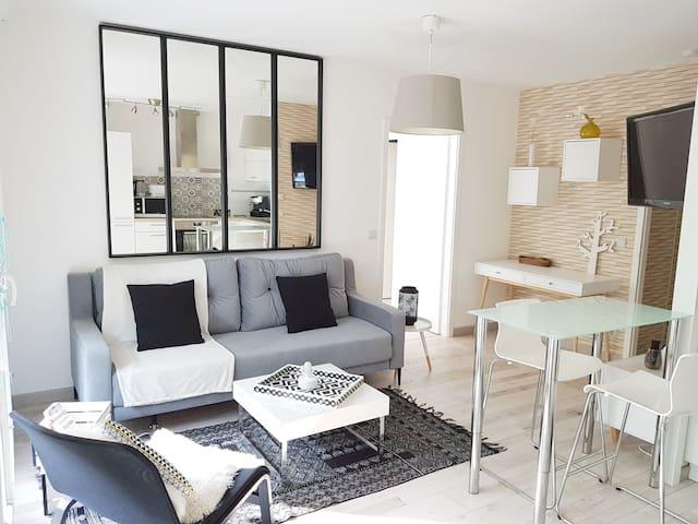 Bel appartement design totalement équipé