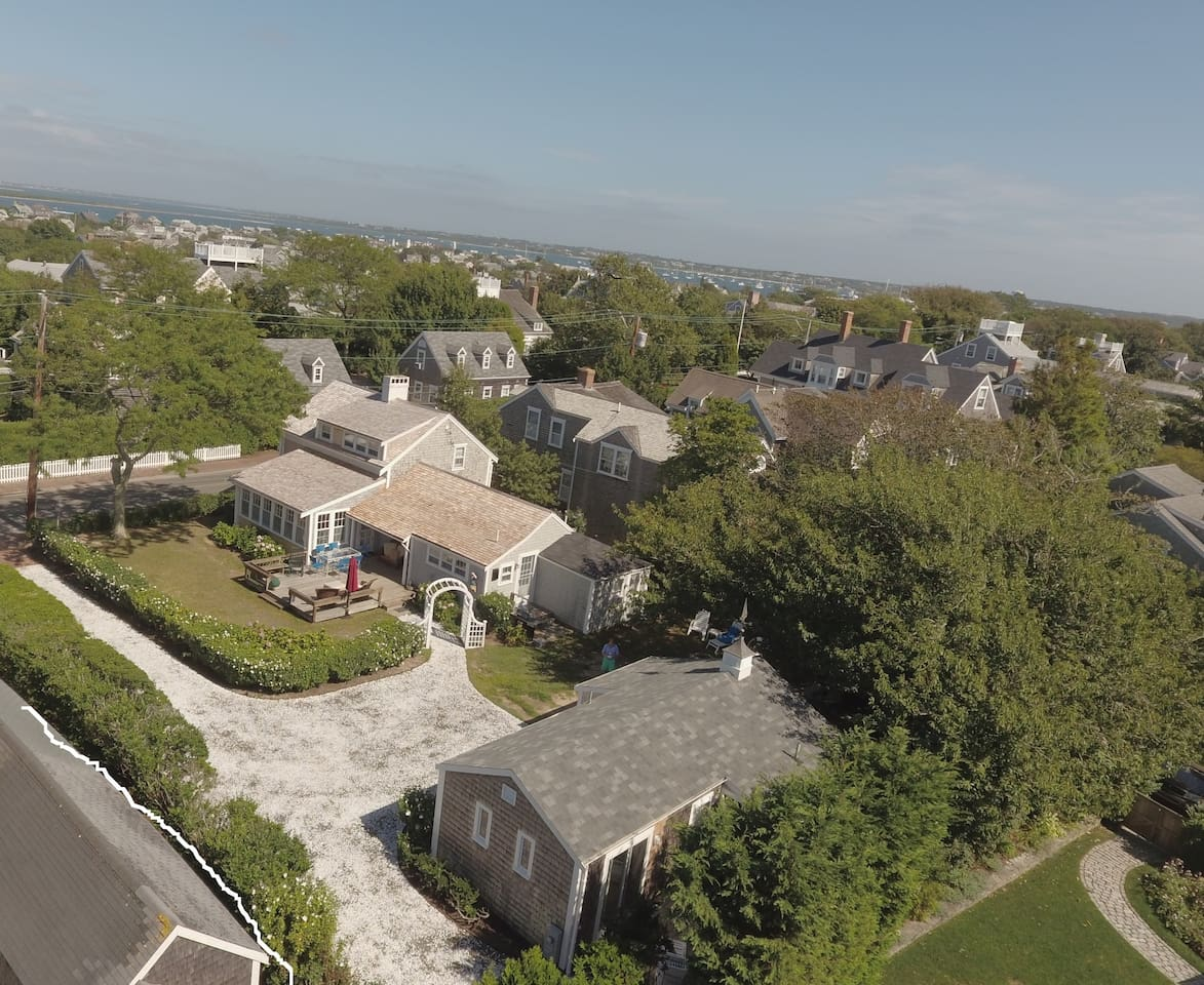 """NANTUCKET TOWN - TWO (2) PRIME """"HEAD of CLIFF ROAD"""" SUMMER RENTALS (5/3) ON ONE PROPERTY FOR RENT"""