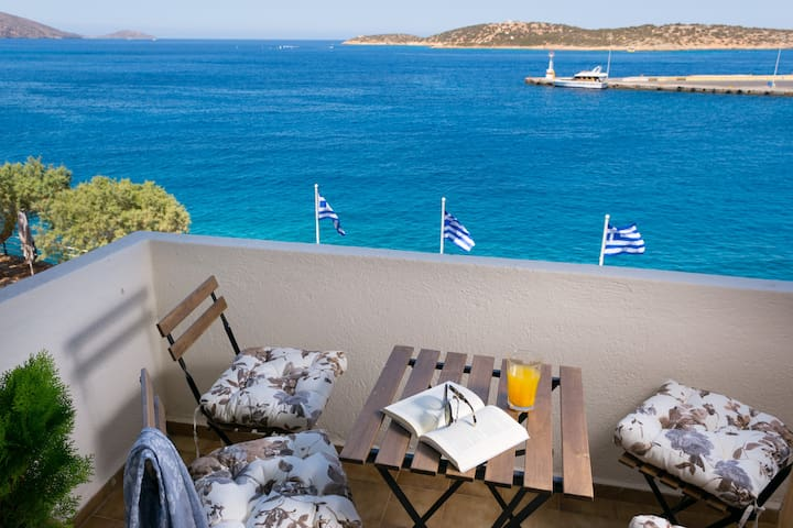 Stunning sea view apartment! - Agios Nikolaos - Apartemen