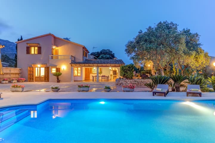 In the mountains with pool - Villa La Font Canaves
