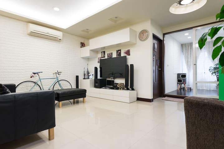 J C. Big. House時尚團體豪華房 輕鬆旅行·近台北車站 - 三重區 - Byt