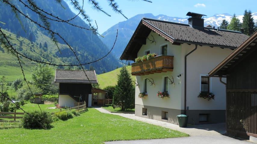 Ferienhaus im Talschluss des Grossarltales - Gemeinde Hüttschlag