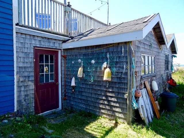 Beach Shack on the Bay of Fundy