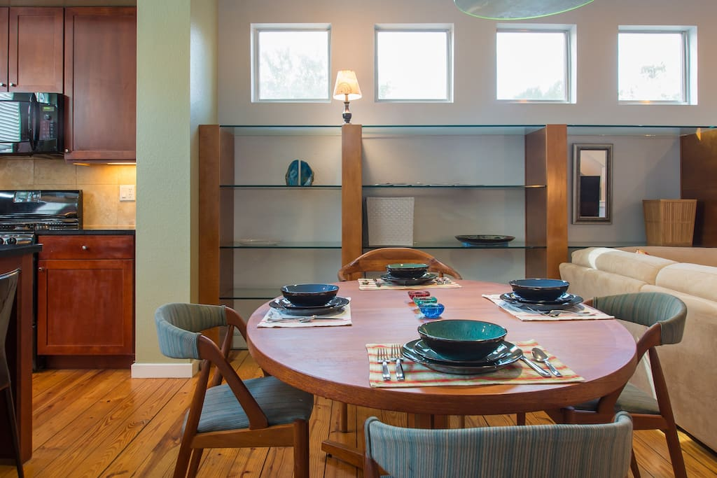 Living - Dining - Kitchen Area