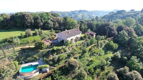 Villa Monterosoli viste mozzafiato incontaminate