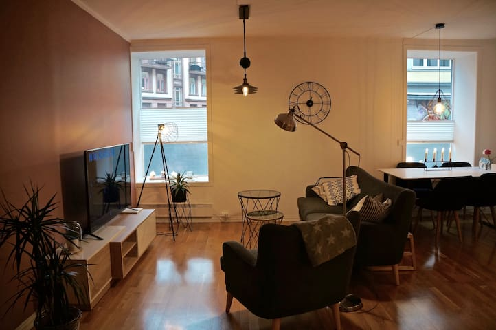 Newly furnished apartment in central Oslo
