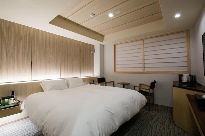 Right by Nijo-castle double room 21㎡