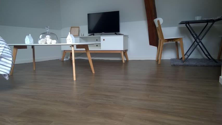 Studio mansardé hyper centre de Valenciennes - Valenciennes - Appartement