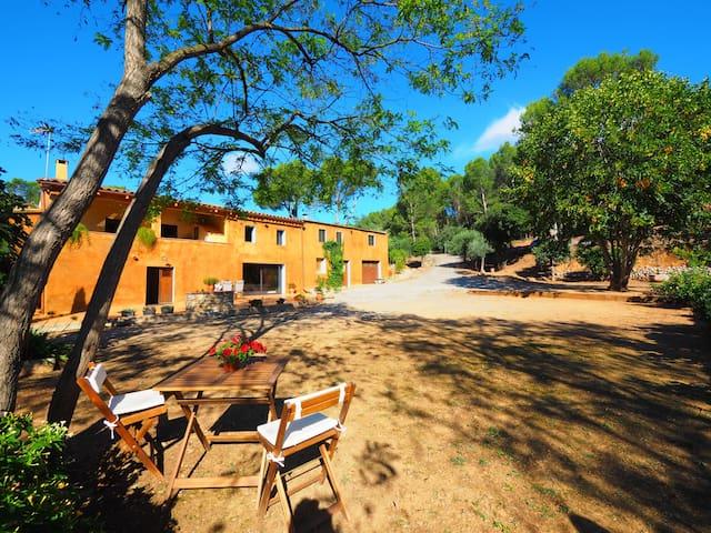 Casa de vacaciones, L'Empordà junto al rio Fluvia