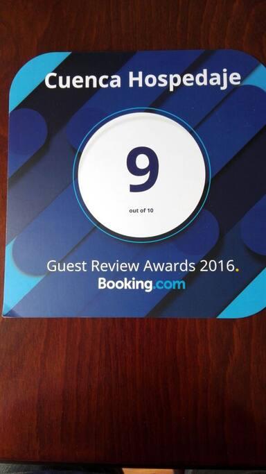 Premio Booking al 2016