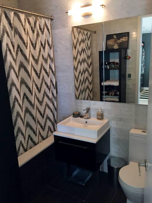 guest bathroom with a nice bathtub (my bathroom)