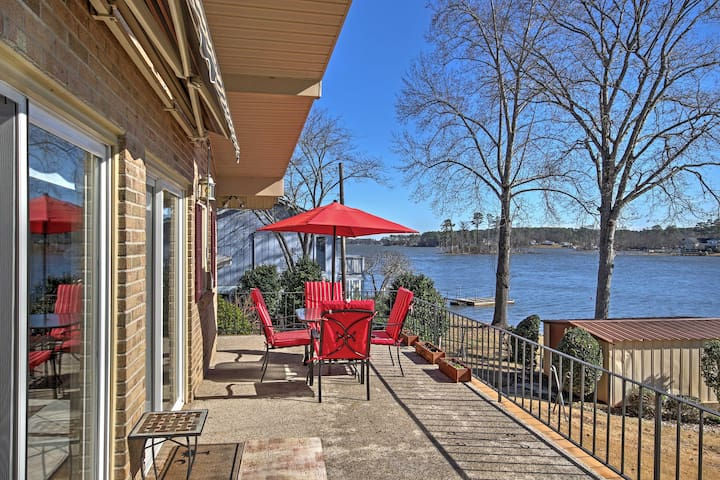 2BR House on Lexington Side Lake Murray, SC - Leesville - Hus