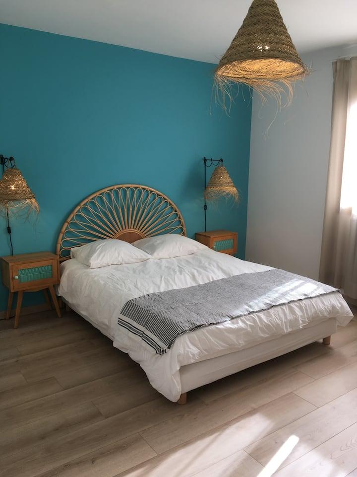Chambre d'hôte (15 m2), comme un Hostal