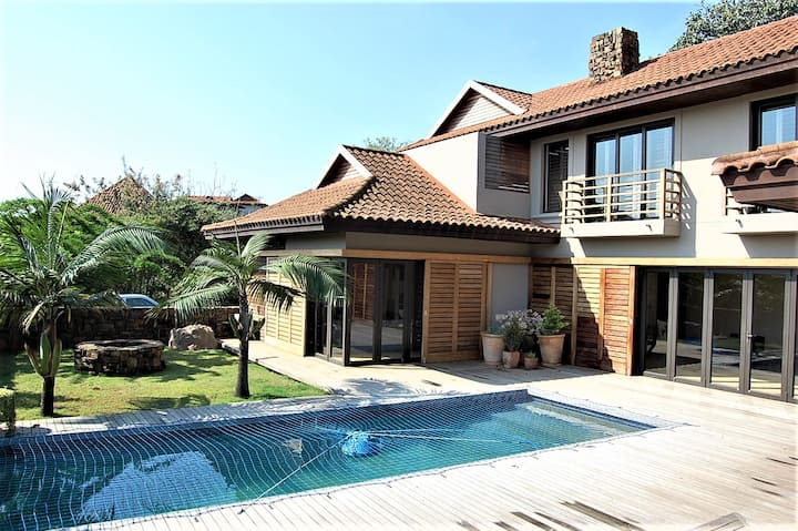 Spacious and private  4 bedroom home