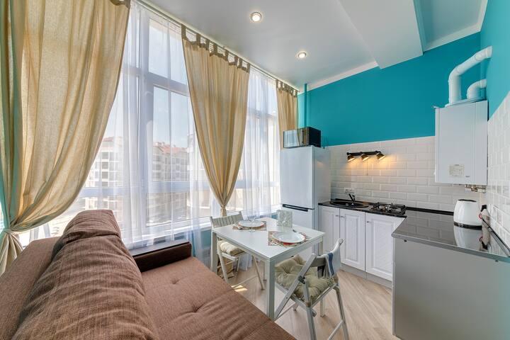 1-комнатная квартира-студия у моря (Геленджик)