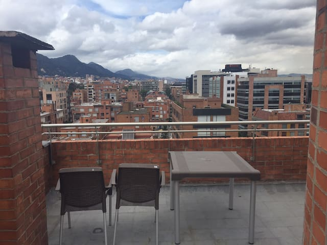 Penthouse Loft with a view -  Practical and Safe! - Bogotá - Loft