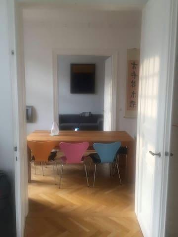 Top Location - Zimmer Sachsenhausen - Frankfurt - Huoneisto