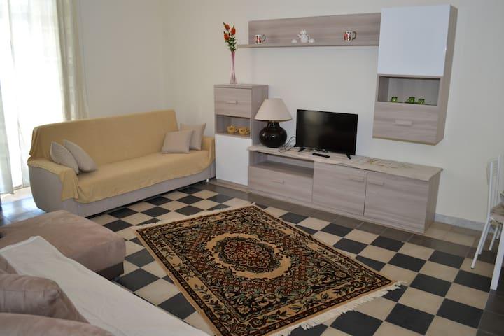 Palazzo Miele Ovest in pieno centro - Zapponeta - Apartament