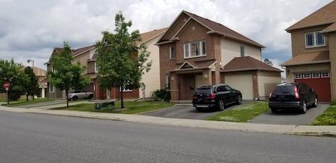 Family home in Barrhaven, Ottawa Canada.