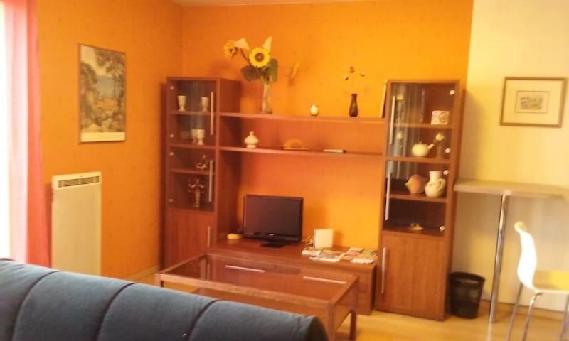 Studio Confort avec garage fermé.Tarifs dégressifs - Corbeil-Essonnes - Daire