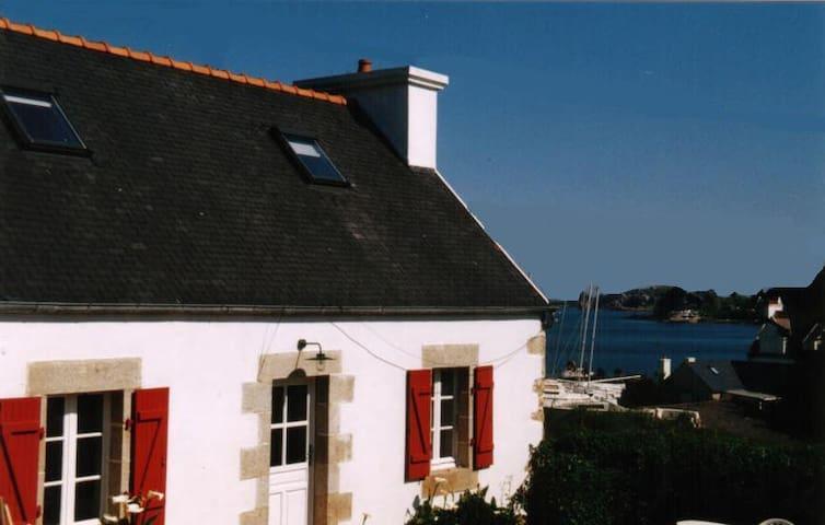 Ty Gwen - Maison de Pêcheur Vue Mer - Plougasnou - Huis