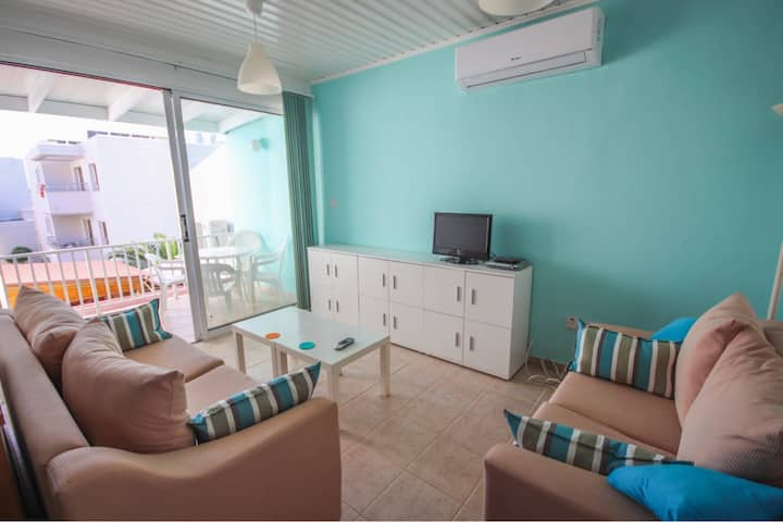 Ayia Napa Seaside but Central big 2-bed apt