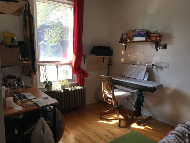 Immense chambre ensoleillée