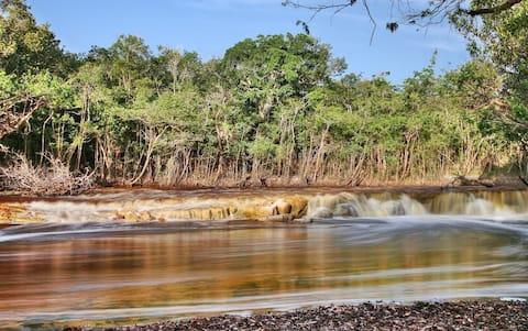Pousada na selva amazônica