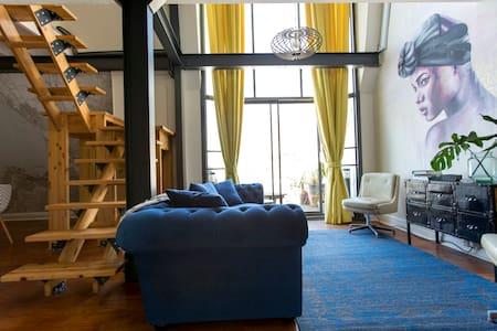 Stunning loft Apartment with spectacular view - Città del Capo - Loft