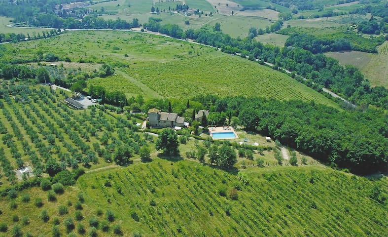 Podere Picchio Verde Colombaia Montespertoli - Montespertoli - Pis