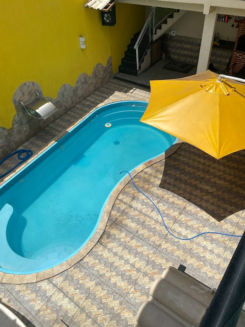 Casa com piscina St Cruz da Serra